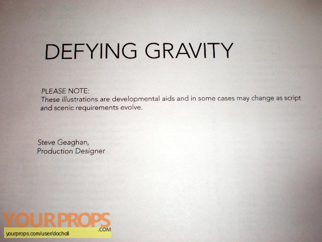 Defying Gravity original production artwork