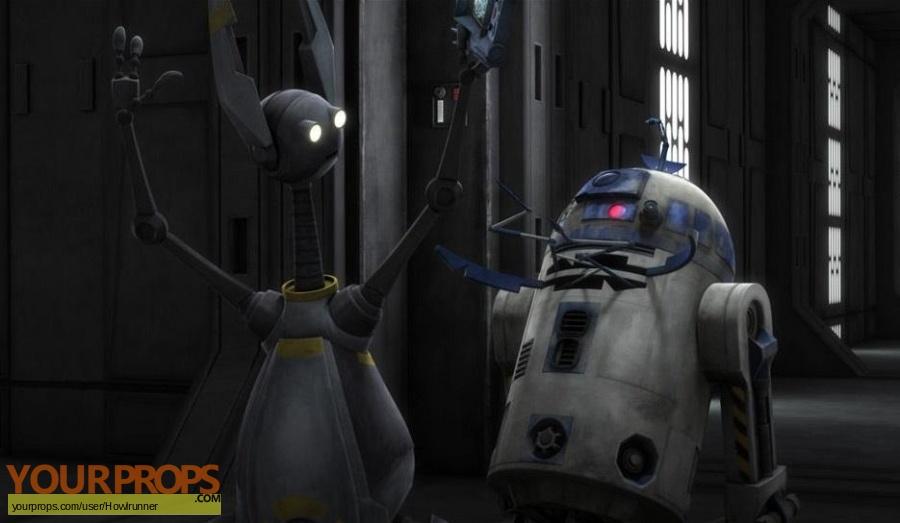 Star Wars  Clone Wars  (Cartoon) made from scratch movie prop