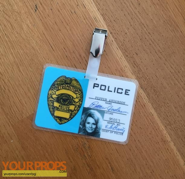 Police Woman replica movie prop