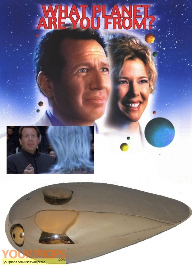 What Planet Are You From  original movie prop