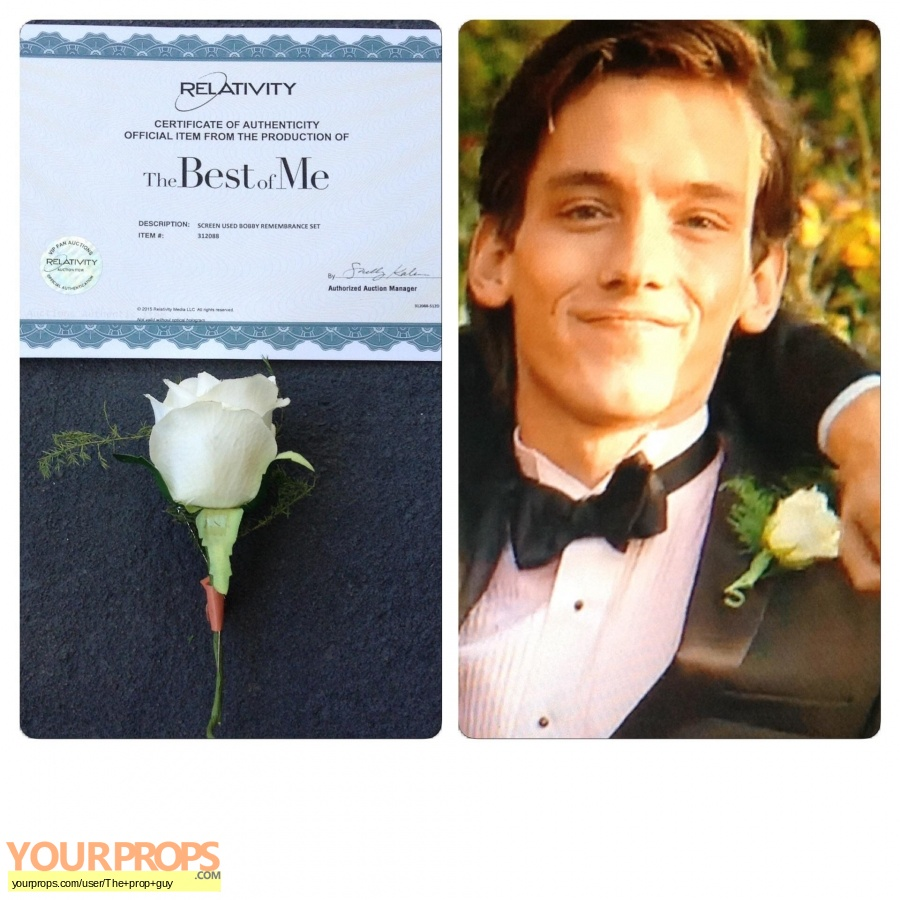 The Best Of Me original movie prop
