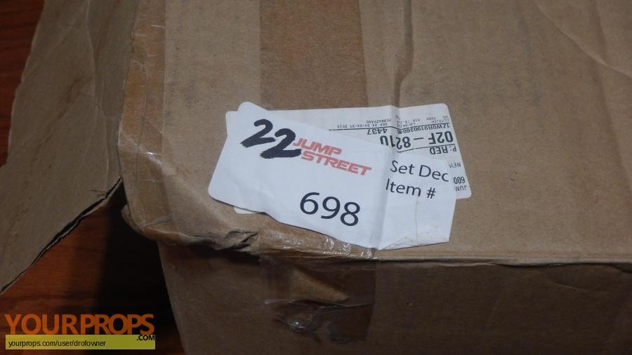 22 Jump Street original movie prop