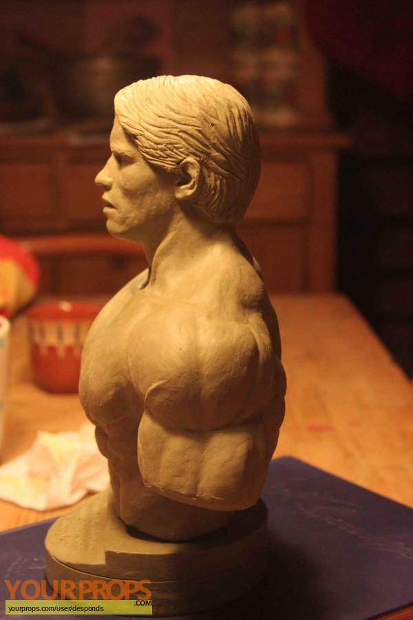 Pumping Iron made from scratch model   miniature