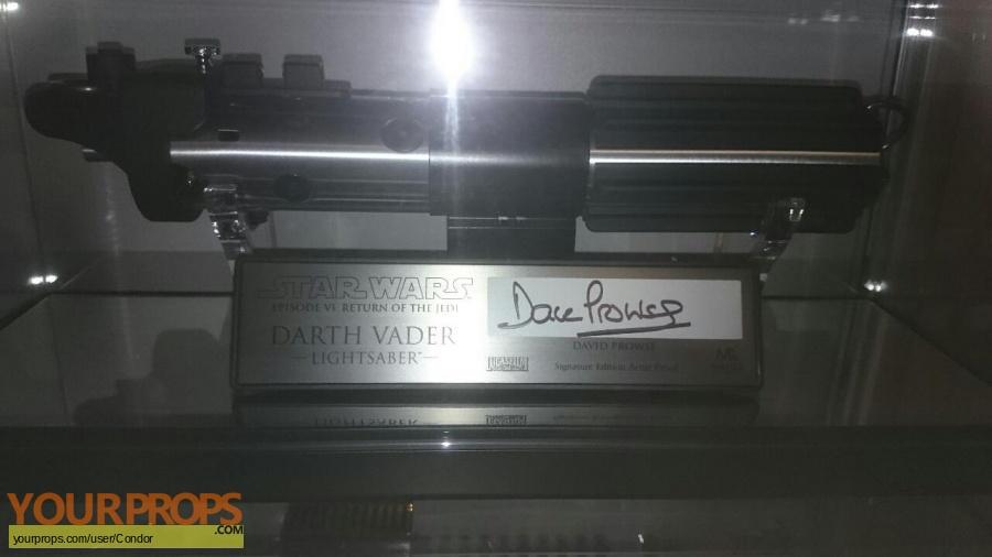 Star Wars  Return Of The Jedi Master Replicas movie prop weapon