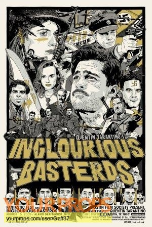 Inglourious Basterds original movie prop