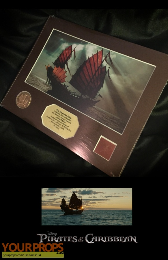 Pirates of the Caribbean  At Worlds End swatch   fragment set dressing   pieces