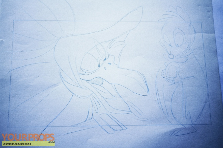 The Secret of NIMH original production material