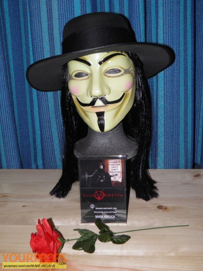 V for Vendetta replica movie prop