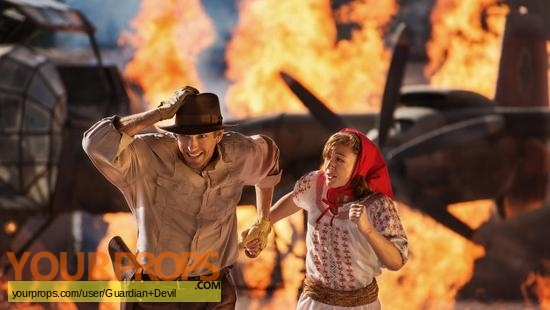 Indiana Jones  Epic Stunt Spectacular (The Show) original movie costume