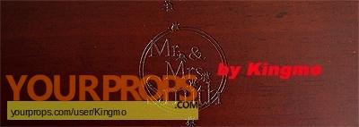 Mr    Mrs  Smith original film-crew items