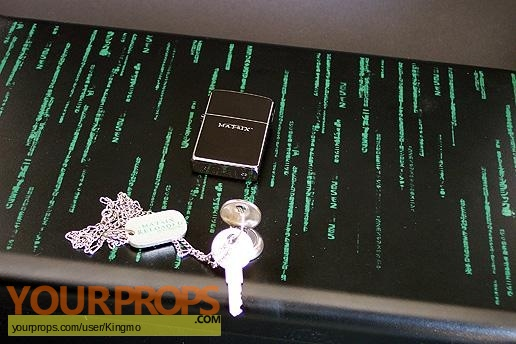 The Matrix Reloaded   Revolutions original production material