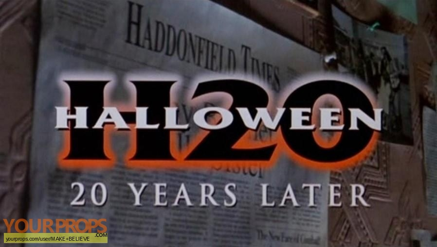 Halloween H20  20 Years Later replica movie prop