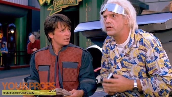 Back To The Future 2 replica movie costume