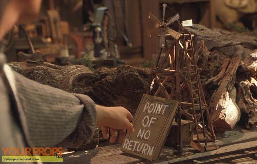 Back To The Future 3 replica movie prop