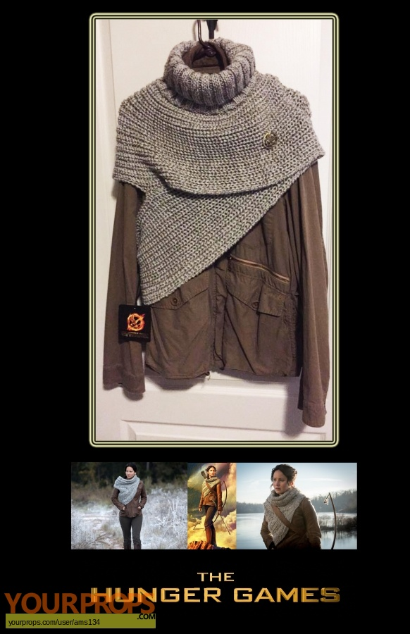 The Hunger Games  Catching Fire replica movie costume