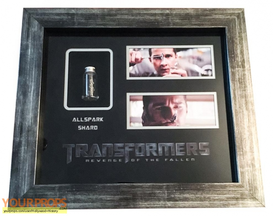 Transformers  Revenge of the Fallen original movie prop