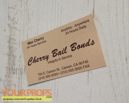 Jackie brown max cherry robert forster cherry bail bonds jackie brown max cherry robert forster cherry bail bonds business card colourmoves