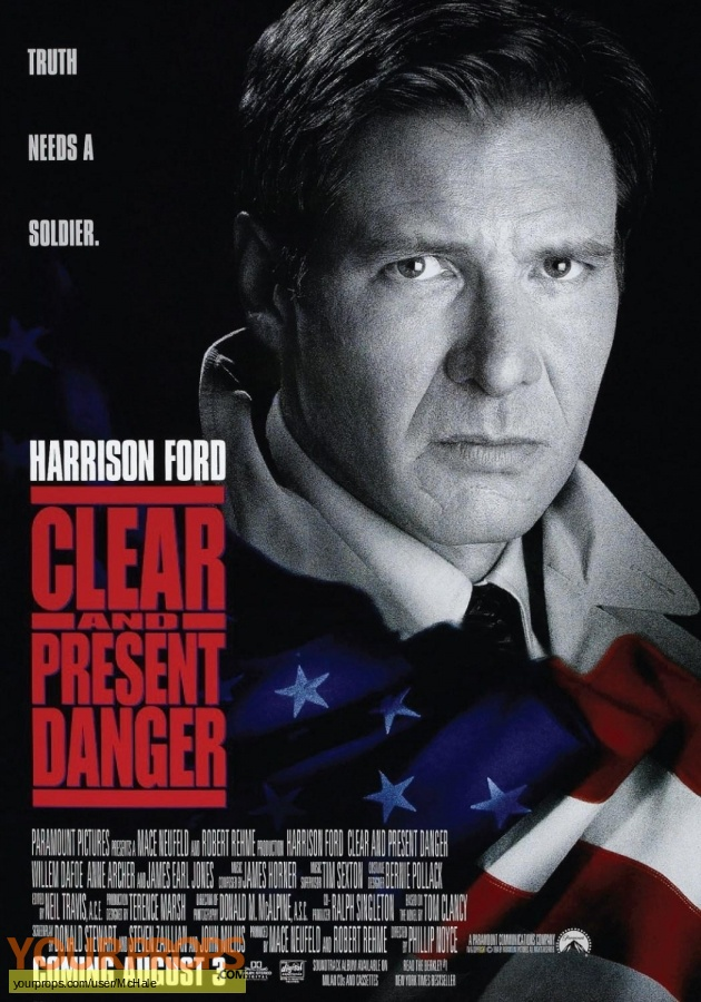 Clear and Present Danger original movie prop