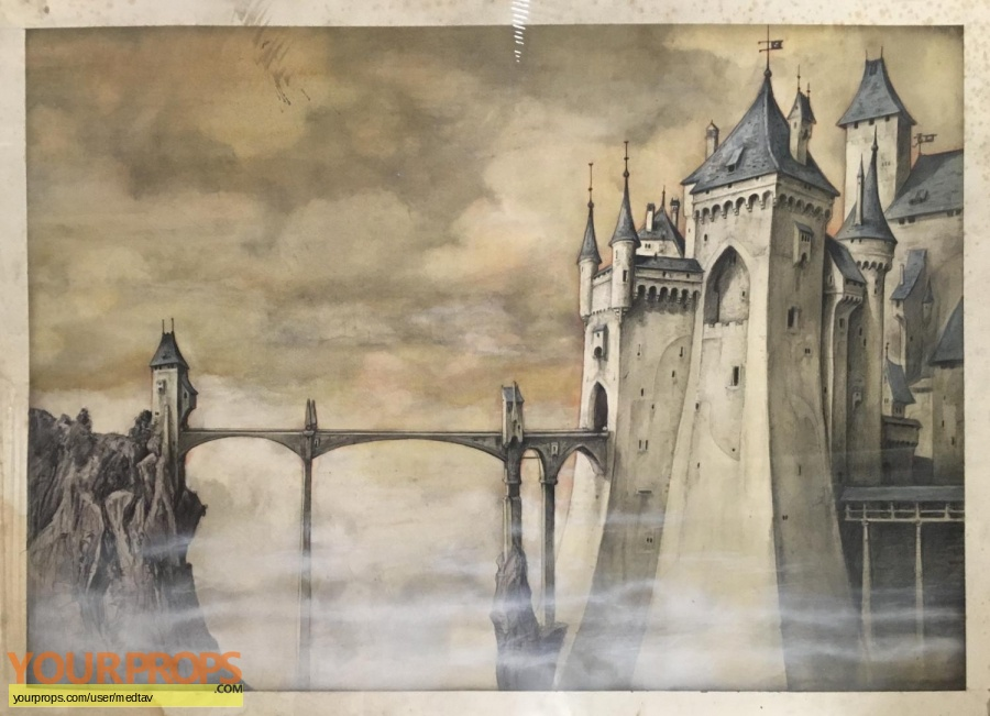 The Storyteller original production artwork