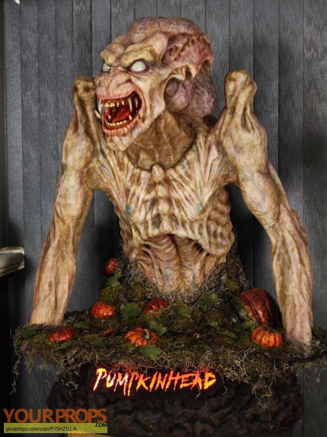 Pumpkinhead made from scratch movie prop