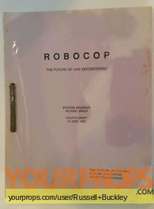 Robocop original production material