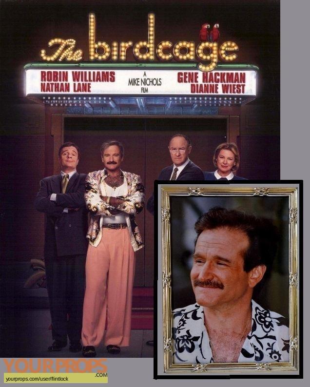 The Birdcage original movie prop