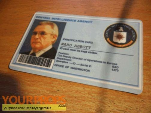 The Bourne Supremacy replica movie prop