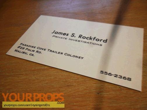 The Rockford Files replica movie prop
