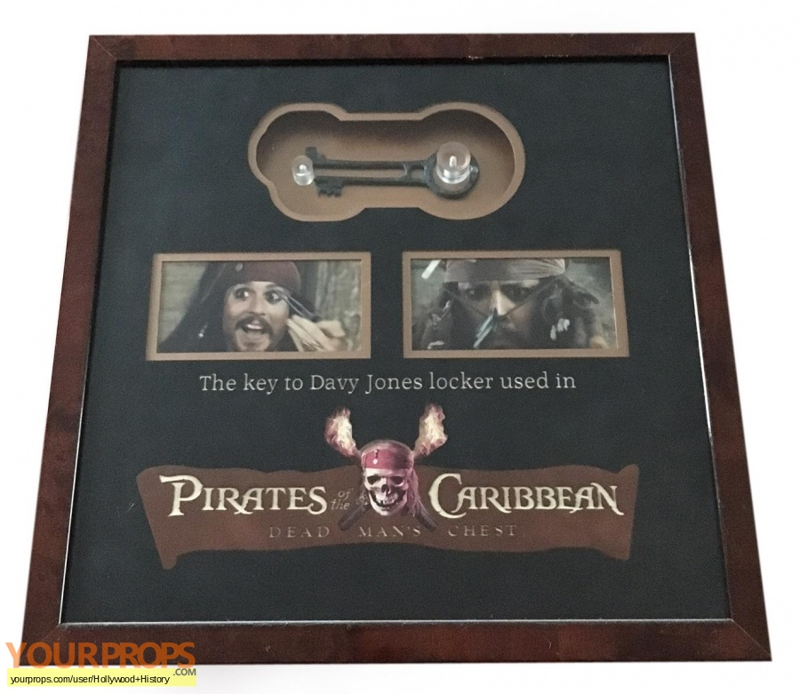 Pirates of the Caribbean  Dead Mans Chest original movie prop