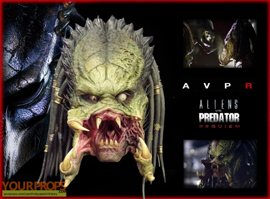 Aliens vs  Predator - Requiem original movie prop