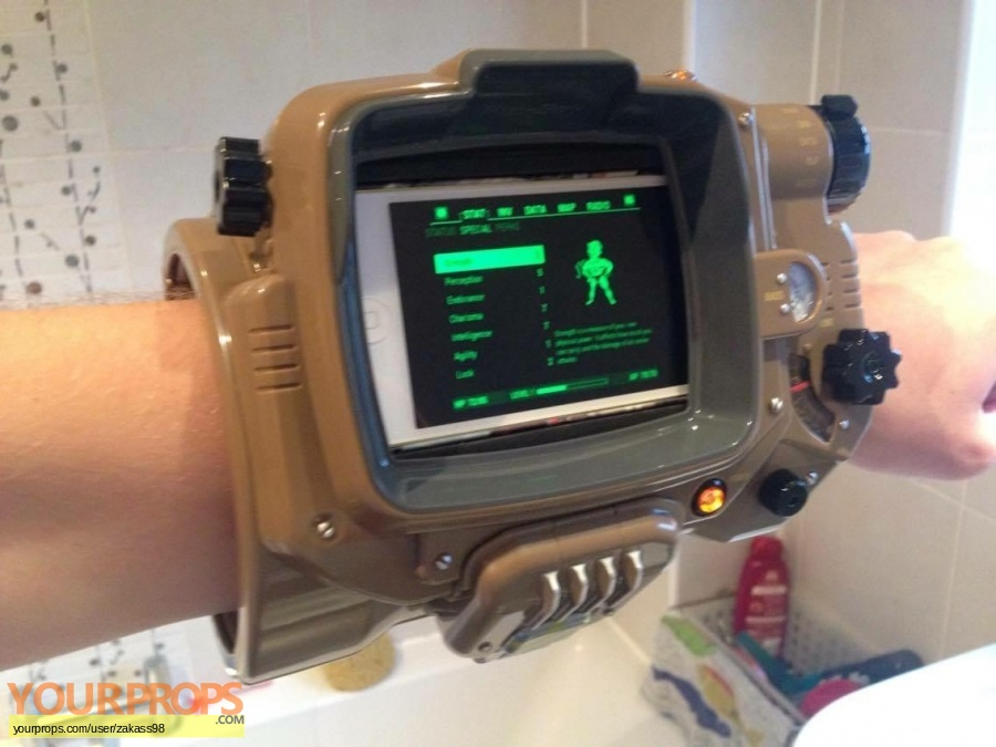 Fallout (video game) replica movie costume