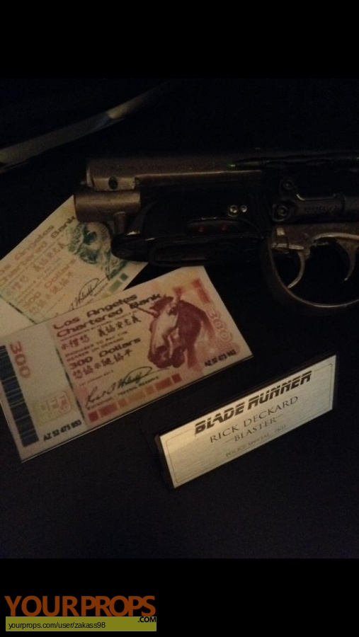 Blade Runner made from scratch movie prop