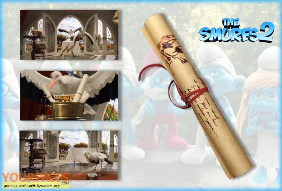 The Smurfs 2 original movie prop