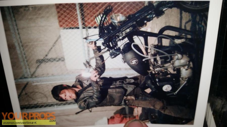 The Walking Dead replica film-crew items