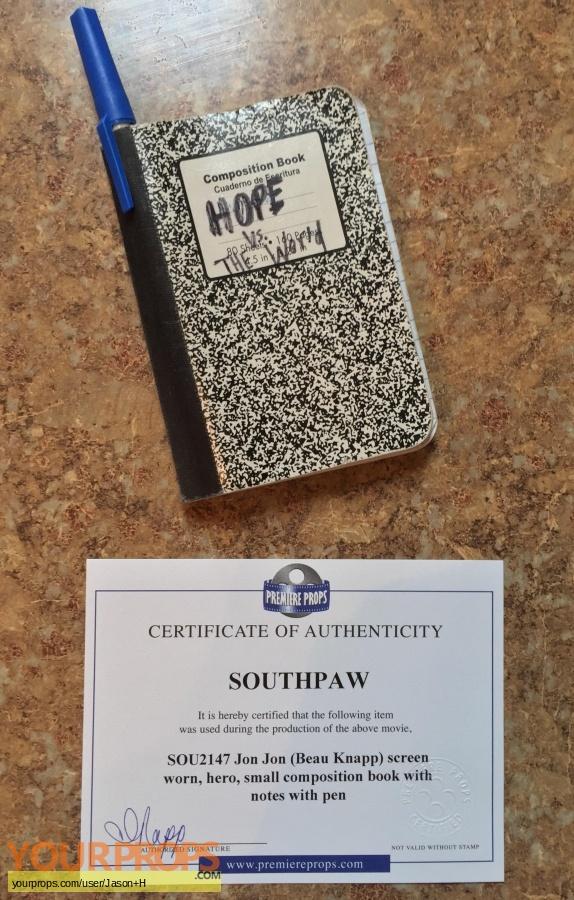 Southpaw original movie prop