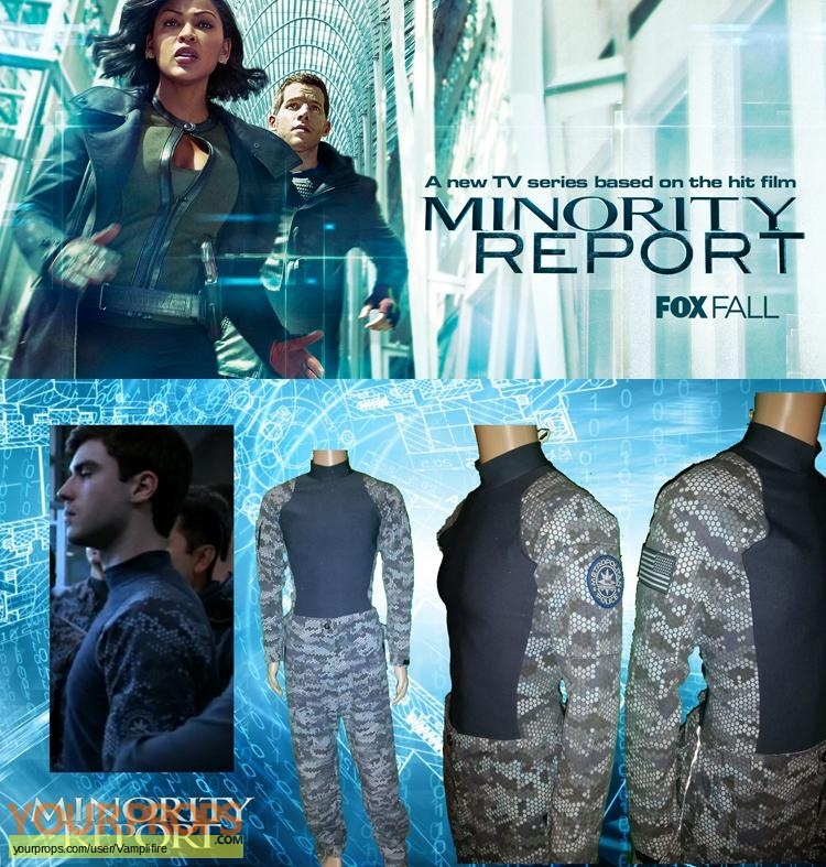 Minority Report original movie costume