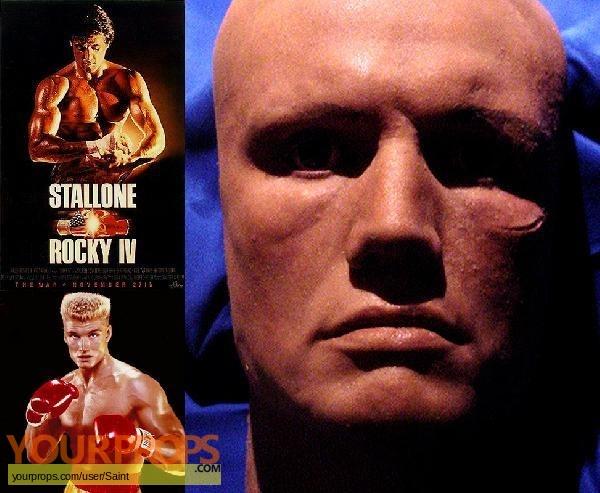 Rocky IV original movie prop