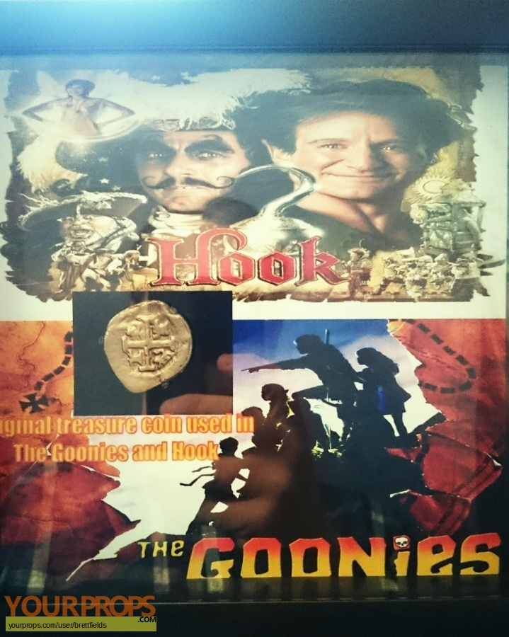 The Goonies original movie prop