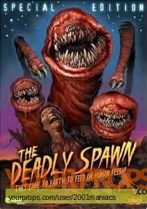 The Deadly Spawn replica movie prop