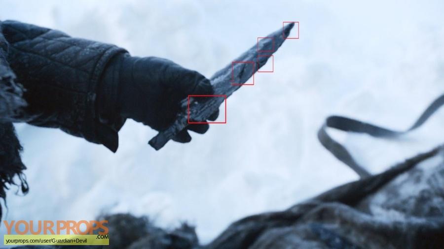 Game of Thrones original movie prop