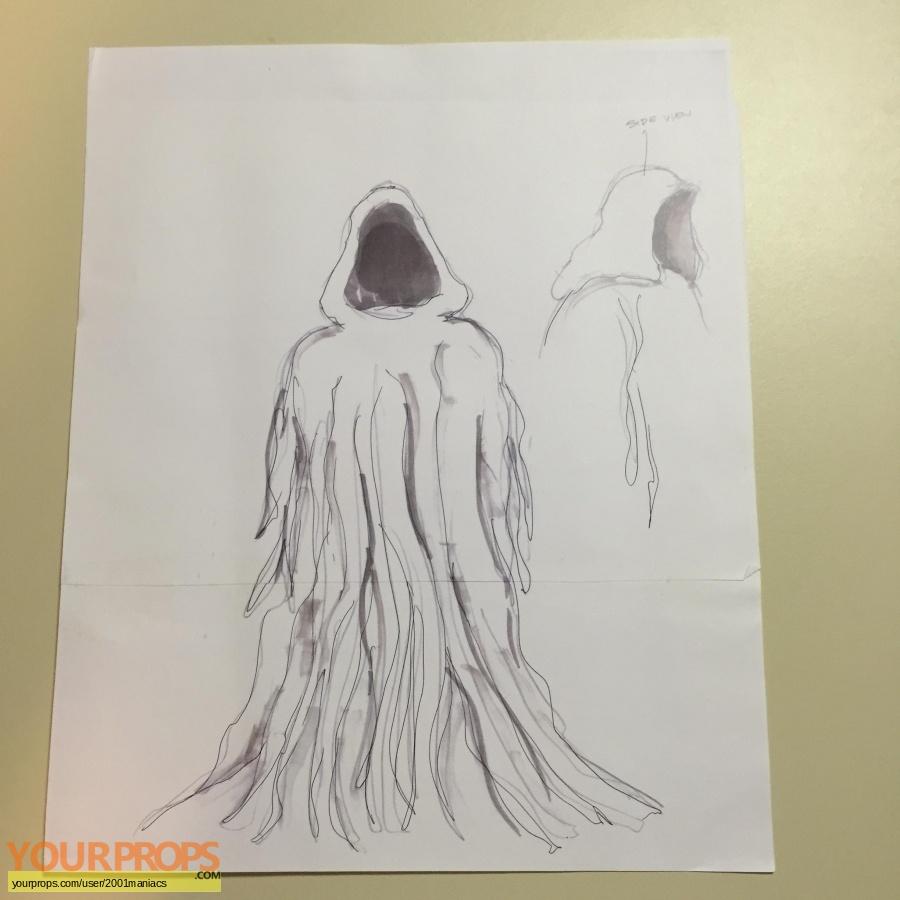 Scary Movie 2 original production artwork