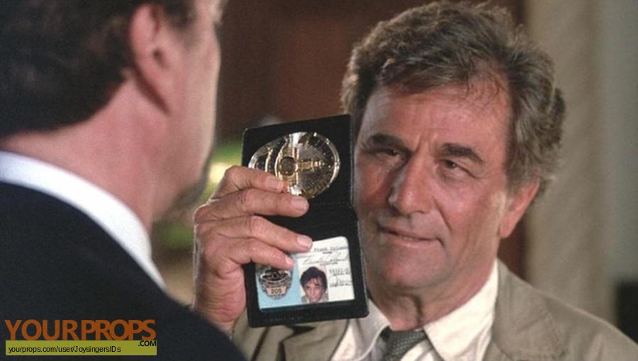 Columbo replica movie prop