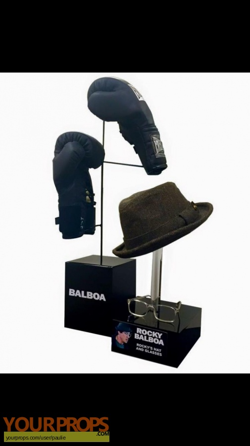 Rocky Balboa original movie prop