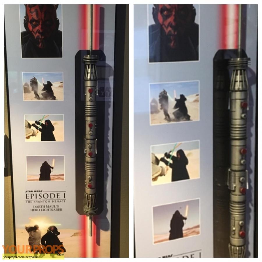 Star Wars  The Phantom Menace original movie prop