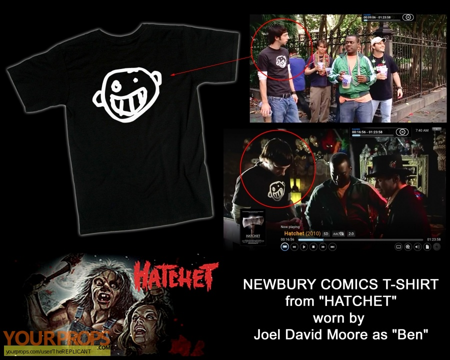 Hatchet original movie costume