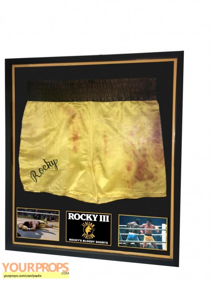 Rocky III original movie prop