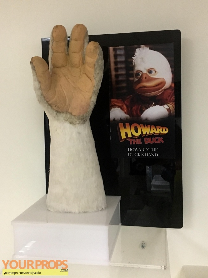 Howard the Duck original movie prop