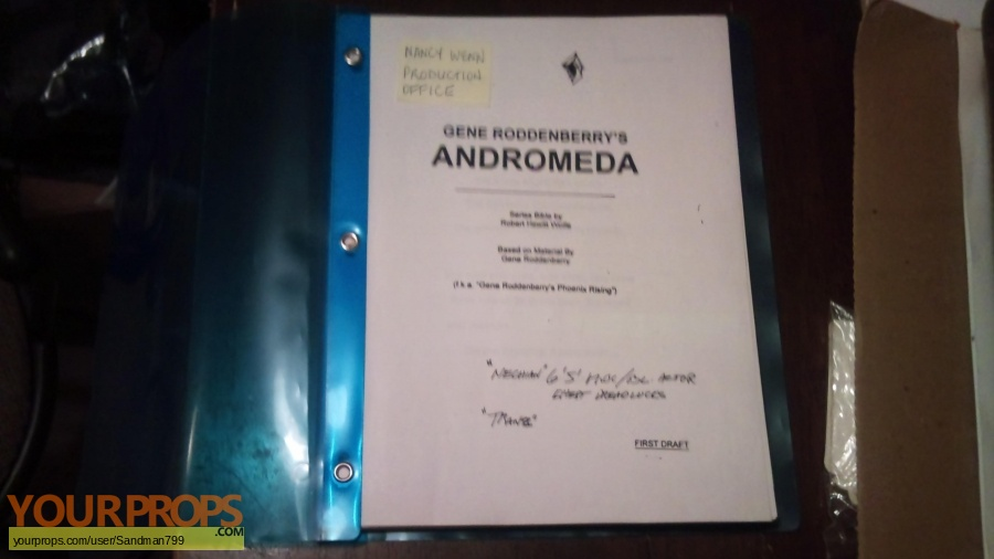 Andromeda original production material