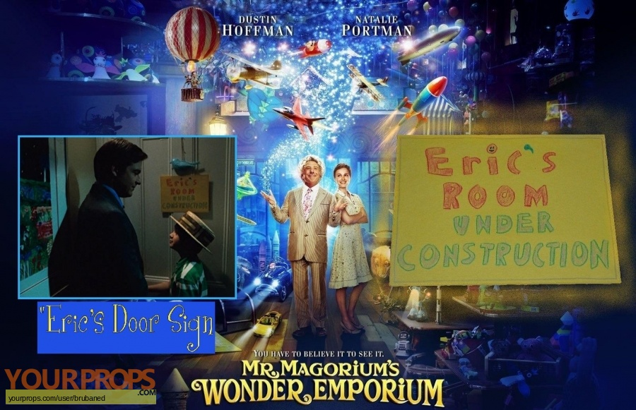 Mr  Magoriums Wonder Emporium original set dressing   pieces