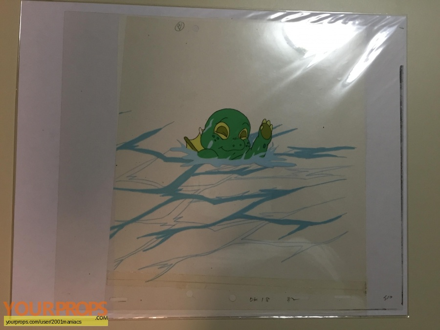 Dink  the Little Dinosaur original production artwork